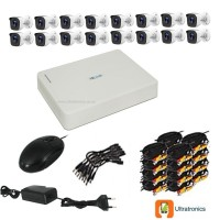 HIKVISION CCTV Kit - 16 Channel CCTV DIY camera system - 16 Bullet Cameras