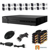 Hilook by HIKVISION CCTV Kit - 16 Channel CCTV DIY camera system - 16 Bullet Cameras