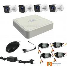 HIKVISION CCTV Kit - 4 Channel CCTV DIY camera system - 4 Bullet Cameras