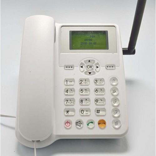 B-Boss ETS5623 Wireless Desktop Cordless Landline Phone - GSM SIM