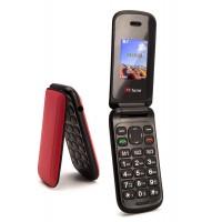 TT140 MOBILE FLIP CELL PHONE - Red