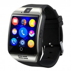 Q18 Smart Bluetooth Wristwatch - Facebook, Twitter, Sync SMS MP3 - Support Sim Card, TF Card - For IOS, Android Phone - Silver