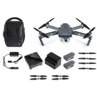 DJI Mavic Pro Flymore Combo, Refurbished By DJI With ORIGINAL Packaging , With Full 12 Month Free Support & And Warranty