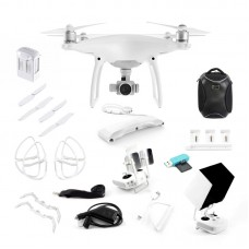 DJI Phantom 4 Refurbished by DJI with ORIGINAL packaging incl Extra 1 Battery Explorer Pack and 12 month DJI-SA Warranty. Includes Free PGYTECH Air Dropping System and ND4 Filter lens!