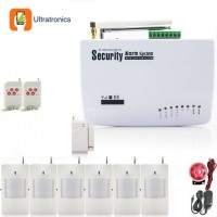 WIRELESS GSM ALARM SYSTEM WITH 6 PIR WIRELESS SENSORS