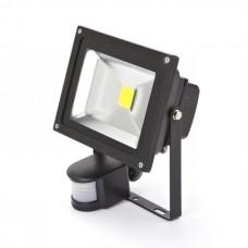 20 Watt Outside LED Floodlight with PIR Sensor