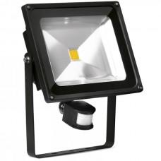 50 Watt Outside LED Floodlight with PIR Sensor