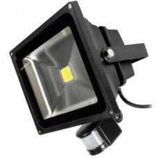 30 Watt Outside LED Floodlight with PIR Sensor